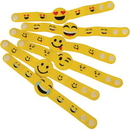 U.S. Toy JA843 Emoji Bracelets / 6-pcs