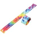 U.S. Toy JA853 Tie Dye Slap Bracelets / 6-pcs