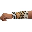 U.S. Toy JA856 Animal Print Slap Bracelets / 8-pc