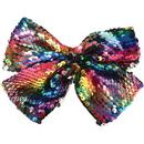 U.S. Toy JA859 Rainbow Sequins Hair Bow
