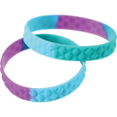 U.S. Toy JA873 Mermaid Scale Rubber Bracelets