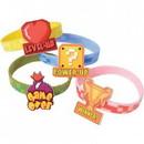 U.S. Toy JA876 Power Up Rubber Bracelets