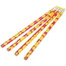 U.S. Toy KA113 Neon Smiley Face Pencils