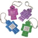 U.S. Toy KC401 Robot Geek Fortune Keychain