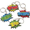 U.S. Toy KC402 Superhero Keychains