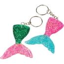 U.S. Toy KC408 Mermaid Tail Keychains/8-Pc