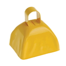 U.S. Toy KD21-08 School Spirit Metal Cowbells Yellow