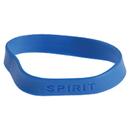 U.S. Toy KD22-07 Blue Rubber Spirit Bracelets