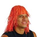 U.S. Toy KD38-09 Orange Tinsel Foil Party Wig