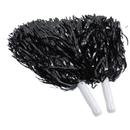 U.S. Toy KD45-01 Black Metallic Pom Poms