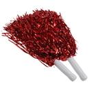 U.S. Toy KD45-04 Red Metallic Pom Poms