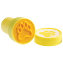 US TOY KD48-08 Pawprint Stampers, Yellow - 6 Pieces