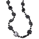 U.S. Toy KD51-01 Metallic Paw Print Beads / Black