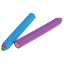 U.S. Toy LM198 Pencil Shaped Erasers / 6 Pc