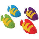 U.S. Toy LM224 Tropical Fish Erasers