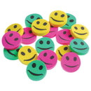 U.S. Toy LM71 Mini Smiley Face Erasers