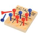 US TOY MU846 Wood Tic-Tac-Toe Games - Travel Games
