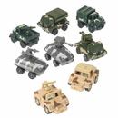 U.S. Toy MX347 Pull Back Army Vehicles
