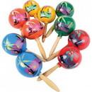 U.S. Toy MX401 Wooden Maracas