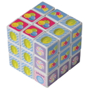 US TOY MX469 Mini Candy Puzzle Cubes, 4-pc