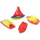 US TOY MX499 Plastic Sailing Boats, 4-pc