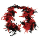 U.S. Toy MX76-66 Red and Black Feather Boa