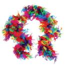 U.S. Toy MX76-78 Multicolor Feather Boa