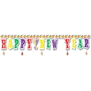 U.S. Toy NY92 Happy New Year Banner