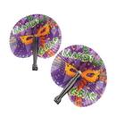 U.S. Toy OD361 Mardi Gras Folding Fans