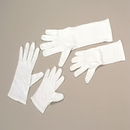 U.S. Toy OD402 Adult Size White Costume Gloves
