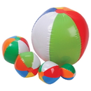 U.S. Toy SA133 Traditional Beachball Assort / 12 Pc
