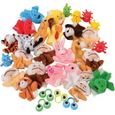 U.S. Toy SA136 U.S. Toy Finger Puppet Assortment / 32 Pcs.