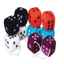 U.S. Toy SB328 Plush Dice - 1 1 / 2 in.