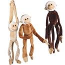 US TOY SB366 Jumbo Plush Natural Color Hanging Monkeys