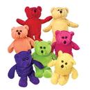 U.S. Toy SB414 Plush Neon Bean Bag Teddy Bears