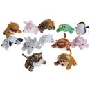 U.S. Toy SB428 Small Sitting Stuffed Animal Assortment