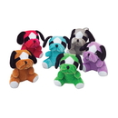 U.S. Toy SB460 Plush Multicolor Bull Dogs