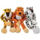 U.S. Toy SB472 Plush Hanging Wild Jungle Cats