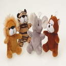 U.S. Toy SB542 Plush Furry Wild Animals