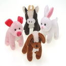 U.S. Toy SB543 Plush Furry Farm Animals