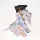 U.S. Toy SB587 Plush Autograph Dog with Graduation Hat