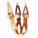 U.S. Toy SB599 Plush Hanging Pirate Monkeys