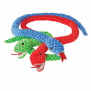U.S. Toy SB600 Jumbo Plush Scaly Snakes