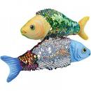 U.S. Toy SB680 Reverse Sequins Plush Fish