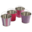 U.S. Toy TU229 Pink and Purple Pattern Buckets