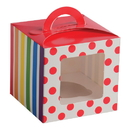 U.S. Toy TU239 Rainbow Party Cupcake Boxes
