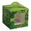 U.S. Toy TU241 Camo Party Cupcake Boxes