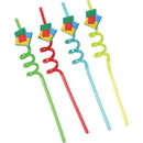 U.S. Toy TU256 Block Mania Straws/4-Pc