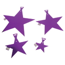 "U.S. Toy TU49-05 12"" Foil Stars / Purple-24 Pcs"