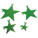 "U.S. Toy TU49-10 12"" Foil Stars / Green-24 Pcs"
